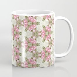 Abstract Flower Pattern Coffee Mug