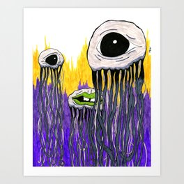 puppydog eyes Art Print