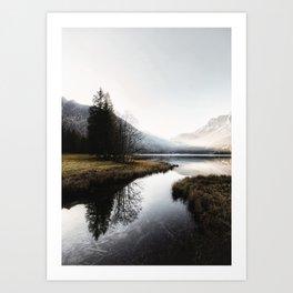 Mountain river 2 Art Print