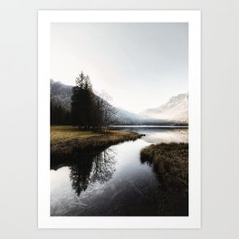 Mountain river 2 Art Print