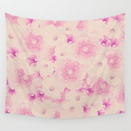 Blush Bouquet Wall Tapestry
