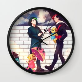 When it rains - Markiplier + Jacksepticeye Wall Clock