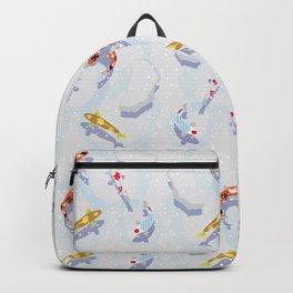 koi pond Backpack