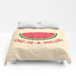 One in a Melon (Watermelon) Comforters