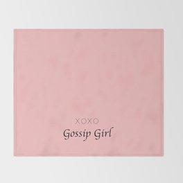 XOXO Gossip Girl - tvshow Throw Blanket