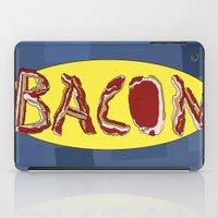 bacon iPad Cases featuring Bacon by creativecurran