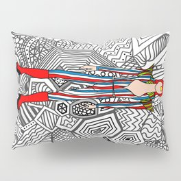 Heroes Fashion 3 Pillow Sham