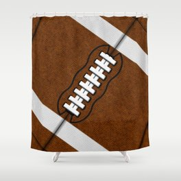 Fantasy Football Super Fan Touchdown Shower Curtain