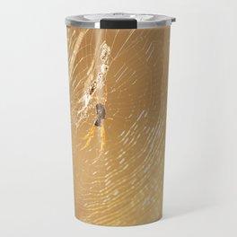 Golden orb spider Travel Mug
