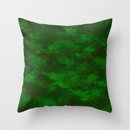 Camo Design Throw Pillow