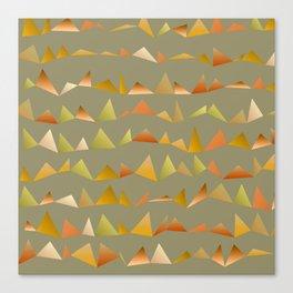 Musical Mountains 2 Canvas Print