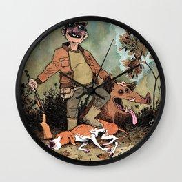 Hunter Wall Clock