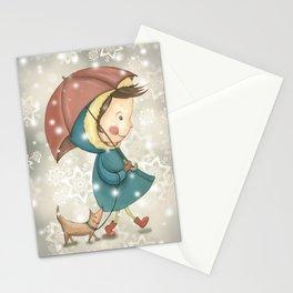 Christmas&snow Stationery Cards