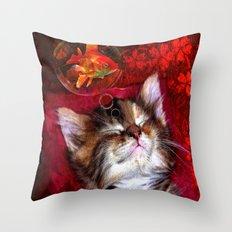 Dream sweet dream Throw Pillow