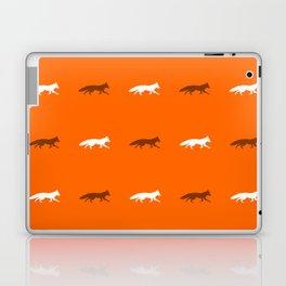 Orange Foxes! Laptop & iPad Skin