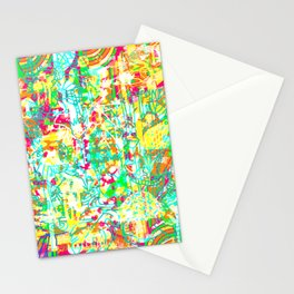 Tropical Poster Stationery Cards