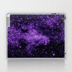 gaLaxy. Dark Purple Stars Laptop & iPad Skin