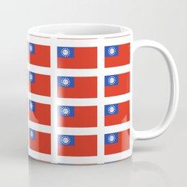 Flag of Myanmar-ဗမာ, မြန်မာ, Burma,Burmese,Myanmese,Naypyidaw, Yangon, Rangoon. Coffee Mug