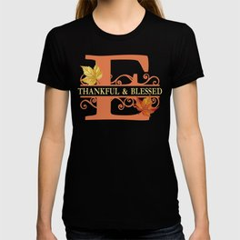 Thanksgiving E Monogram T-shirt
