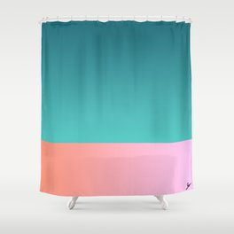 Sunset in Muscat #2 Shower Curtain