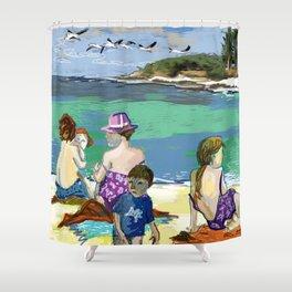 Esmeralda & Brood (Saw Sea Art Series) Shower Curtain