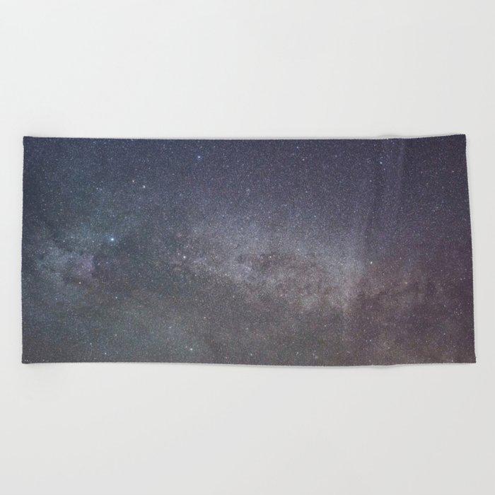 Cygnus and the North American nebula Beach Towel