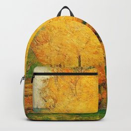 Classical Masterpiece 'By the Stream - Autumn' by Paul Gauguin Backpack