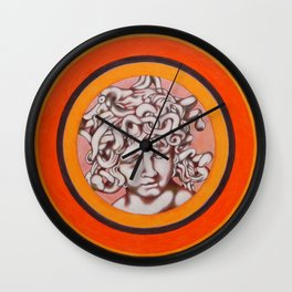 Medusa del Bernini Wall Clock