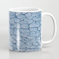 desert Mugs featuring desert by laika in cosmos