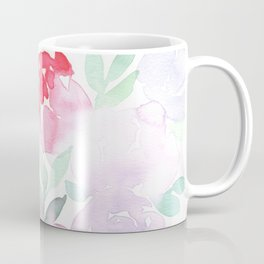Pink and Purple Roses Coffee Mug