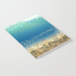 Abstract Seascape 04 wc Notebook