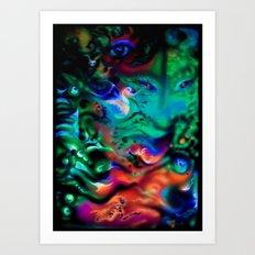 SeaOfUniverses Art Print
