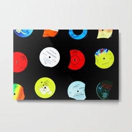 Vinyl Records Version 2 Metal Print