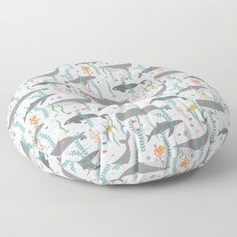 Whales of the Sea Floor Pillow
