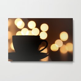 A Cup Of Coffee! Metal Print