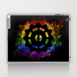 Helm of Awe - Pride Laptop & iPad Skin