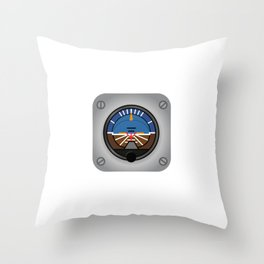 """""""Watch Your Attitude"""" tee design. Makes an awesome and creative gift to your loved ones! Grab yours! Throw Pillow"""