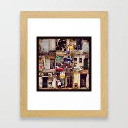 Doors of Hong Kong Framed Art Print