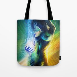 Prismatic Singularity Tote Bag