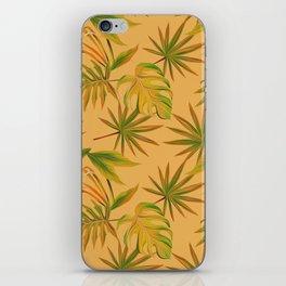 Leave Pattern iPhone Skin