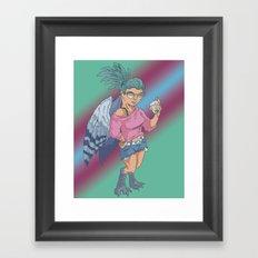 Harpy Gal Framed Art Print