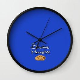 Bookie Monster Wall Clock