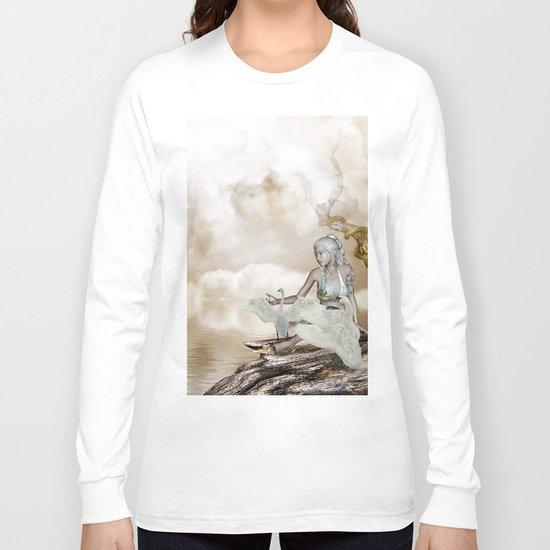 Fairy and the swan Long Sleeve T-shirt