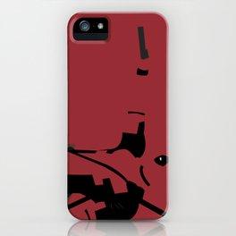 Wade Wilson iPhone Case