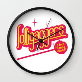 Lolligaggers Wall Clock