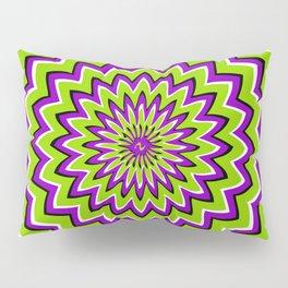 Optical Illusion moving pattern Pillow Sham