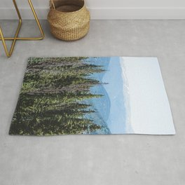 Rocky Mountain Adventure - Colorado Nature Photography Rug