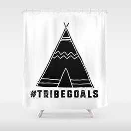 Tribe Goals Shower Curtain