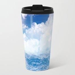 Wolken über dem Meer Travel Mug