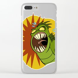 Creature from the Black Lagoon Clear iPhone Case